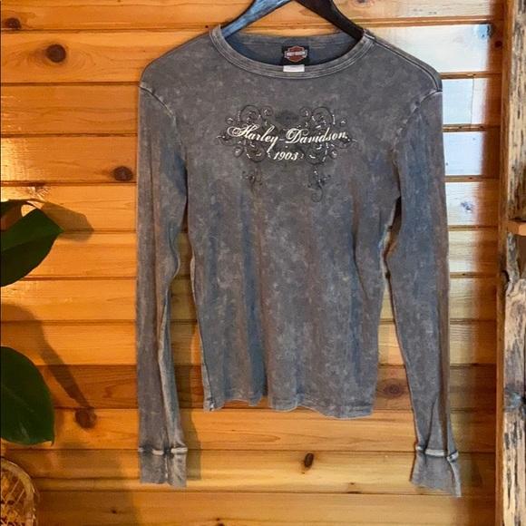 2010 Harley Davidson long sleeve shirt